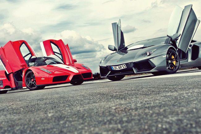Ferrari and Lamborghini Tour